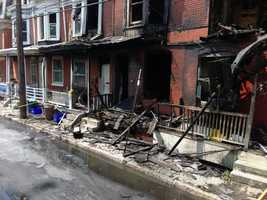 Separate fires that broke out shortly after midnight on July 8 in Harrisburg have been ruled arson.