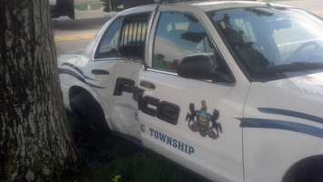 The officer was treated at Hanover Hospital for minor injuries.