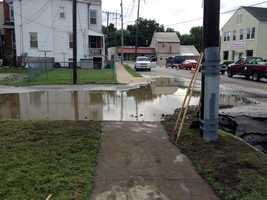 Crews in York are repairing a water main break on Parkway Boulevard.