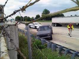 Two vehicles were involved in a Friday morning crash on Route 283 in Lancaster County.