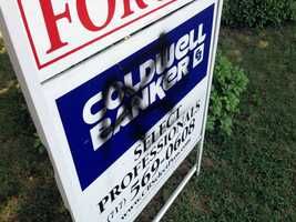 Between midnight and 7:30 a.m. Friday about a dozen vehicles and a real estate sign were spray painted.