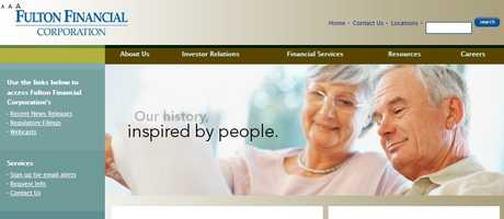 Fulton Financial Corp., Lancaster, Lancaster County.