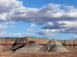 Petrified Forest National Park– Arizona: $52,500,000