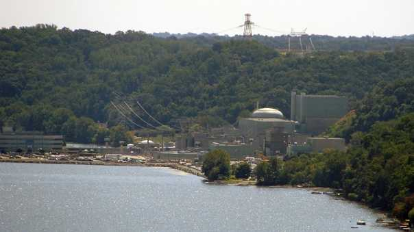 The Peach Bottom Nuclear Power plant sits on the Susquehanna River in southern York County.