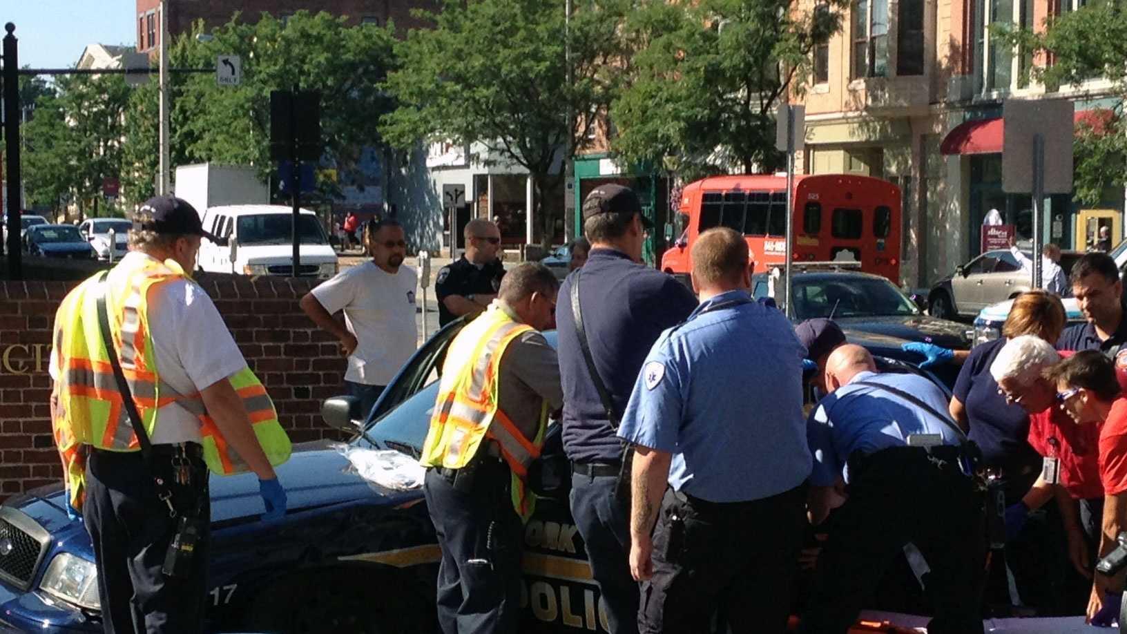 Police crash photo