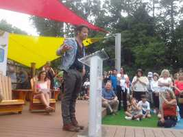 Nate Berkus attended the ceremony.