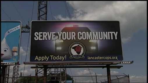 Police billboard