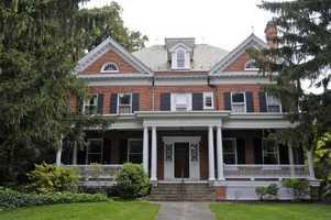 This beautiful home was built in 1895 and features eight bedrooms, six bathrooms, and is more than 6,600 square feet.