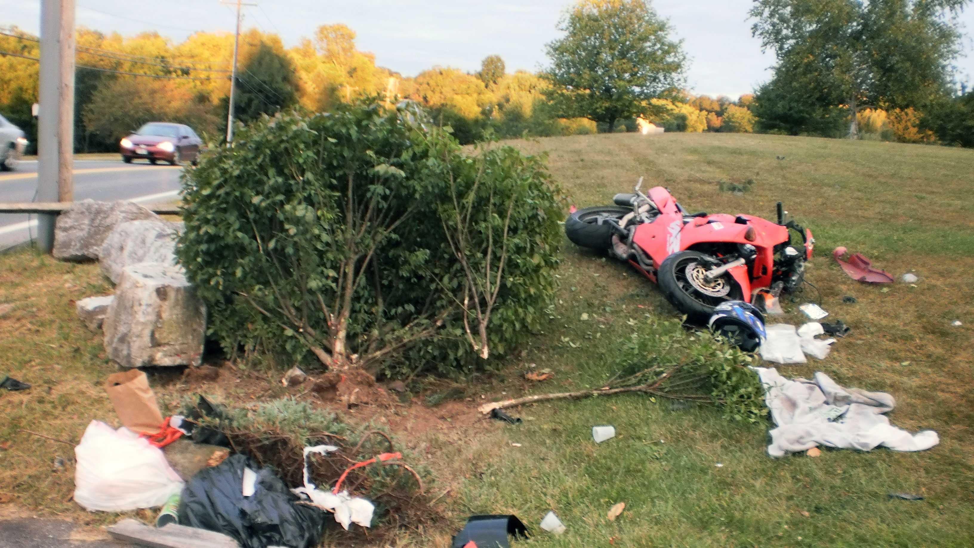 9.9 motorcycle crash
