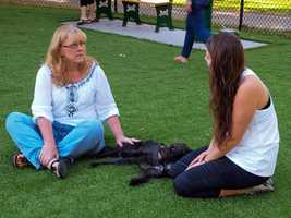 News 8 was there when Cindy gave a reading for this pet and its owner.