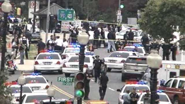 Capitol locked down