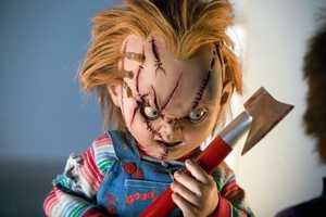 Child's Play - Who could forget Chucky, the doll possessed by the spirit of a killer.