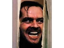 The Shining - Jack Nicholson and Stanley Kubrick helped bring Stephen King's vision to the screen in an unsettling fashion.