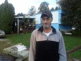 This man heard a smoke alarm sounding in his neighbor's home Monday morning in the Brookside mobile home park on Bowmansville Road.