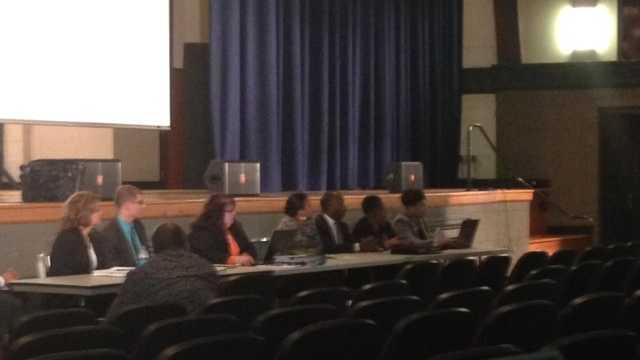 School district meeting