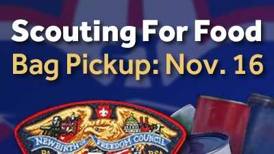 Help Out The Scouts By Donating Non-Perishable Food During The Drive Taking Place Across The Susquehanna Valley!