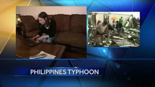 Typhoon woman