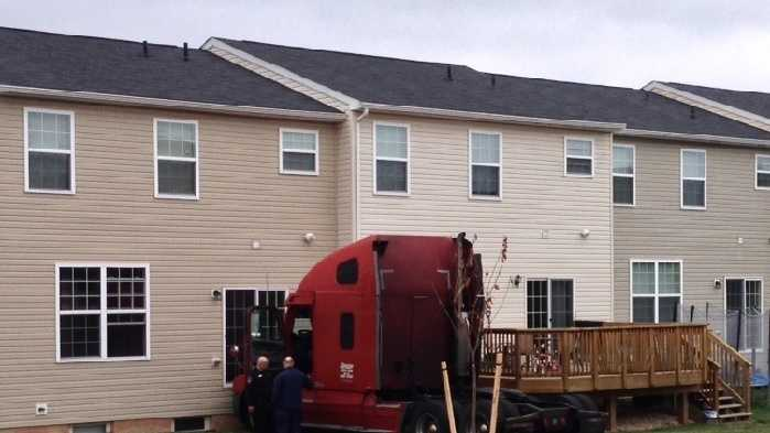 11.17.13 Truck vs House