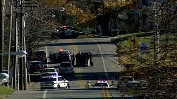 Monday, Nov. 18: The man who died in a 5-hour standoff with police in York County Monday has been identified. Police said it is not clear whether Brian Costley, 53, shot himself or was hit during a shootout with police. West Manheim Township police said they were trying to serve a warrant Monday afternoon at Costley's home in the 200 block of Baltimore Pike when he opened fire. Police fired back and Costley barricaded himself inside the home. They eventually got inside and found Costley dead.