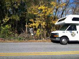 Tuesday, Nov. 19: Authorities in York County are investigating skeletal remains found Monday. A human skull and a bone were found in the area of Loucks and Haviland roads in West Manchester Township, according to the York County District Attorney's Office. The police chief said the skull was found by tree trimmers working in the area. Detectives from West Manchester Township and York County, the York County Coroner's Office and a forensic anthropology team from Mercyhurst University are at the site Tuesday, police said. The process to determine the age, gender, race and cause of death could take months, according to the coroner.