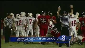 Police are filing charges in connection with this on-field fight that happened at the Sept. 6 football game between Annville Cleona and Hamburg.
