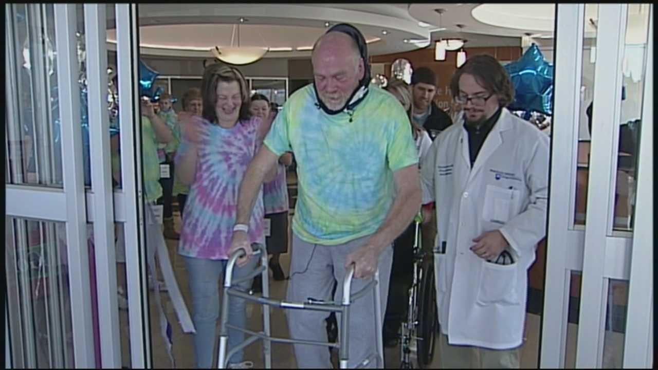 paralyzed man walks
