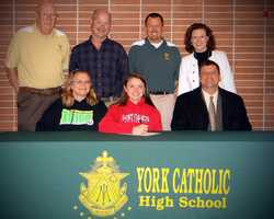 Jessica Mazzur will attend Saint Francis University and play lacrosse.