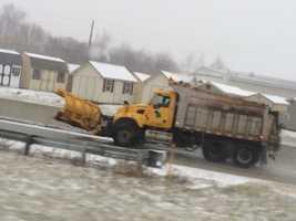I-81 near Harrisburg, 3:45 p.m. Saturday