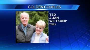Jan. 7, 2014: Ted and Jan Weitkamp of York are celebrating 50 years of marriage.