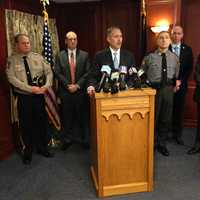 "At a Thursday  morning news conference, DA Craig Stedman said, ""We have a job to make sure justice is done."""