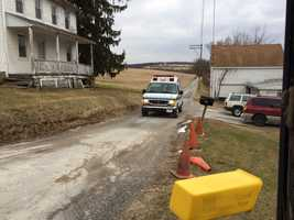 Officials said a construction worker was killed in an on-the-job accident Monday morning.