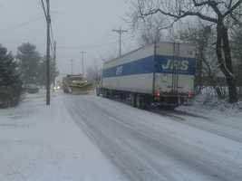 Mount Zion Road, Route 24, Springettsbury Township, 9:20 a.m.