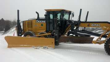 These types of plows haven't been used in years because it hasn't snowed in large enough quantities at once