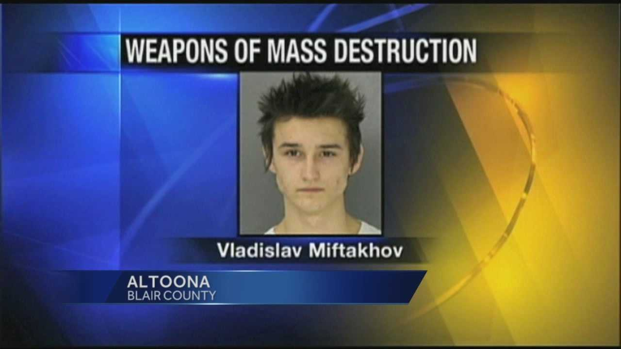 News 8 at Noon 1.27.14 student accused bomb