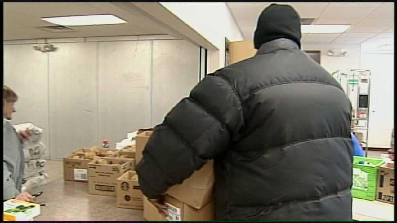 News 8 at Noon 1.28.14 food distribution