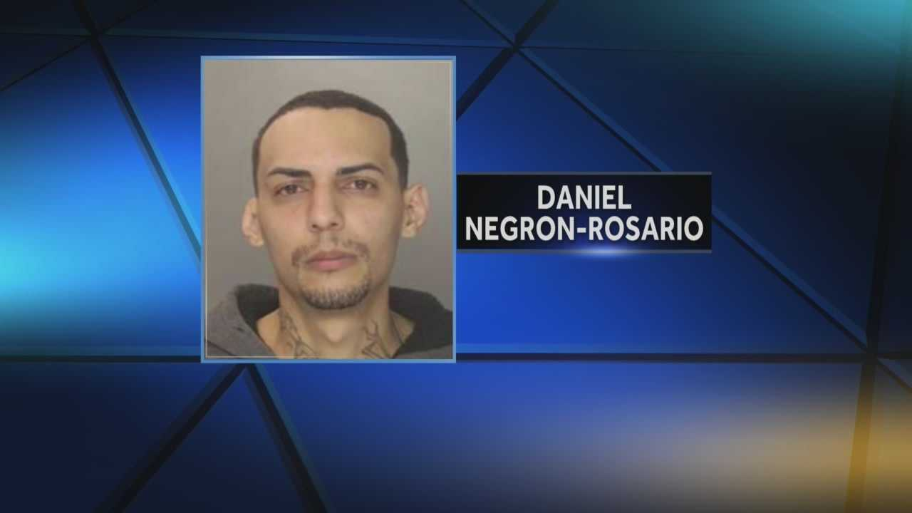 News 8 at Noon 1.29.14 harrisburg arrest