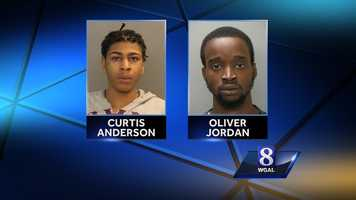 Police said Anderson fled the scene after the shooting. He was later found riding in a stolen car with Oliver Jordan, 19, according to police. Both were taken into custody. Police said Jordan also had a stolen handgun.