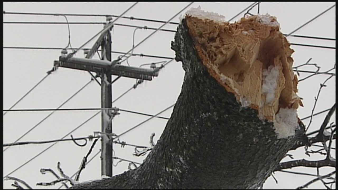 News 8 at Noon 2.5.14 lancaster county storm damage
