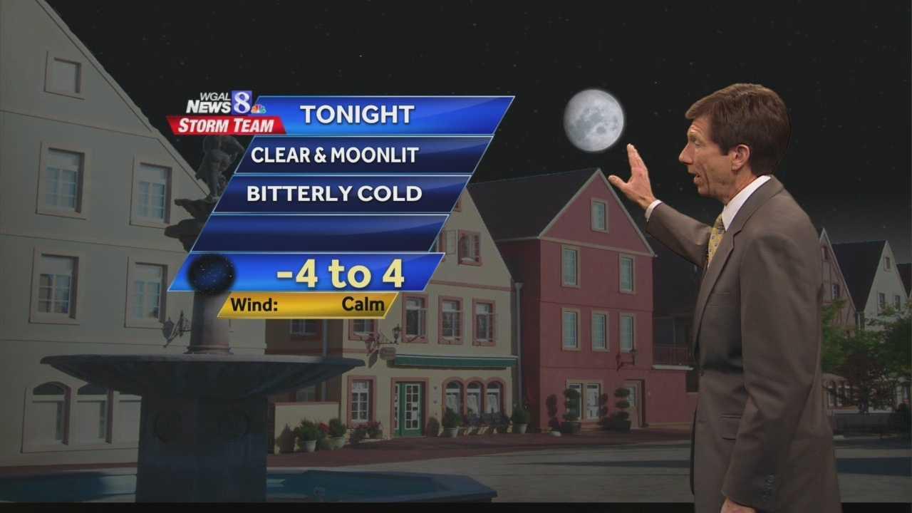 News 8 at Noon 2.11.14 noon forecast