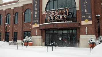 Hershey, noon Thursday.