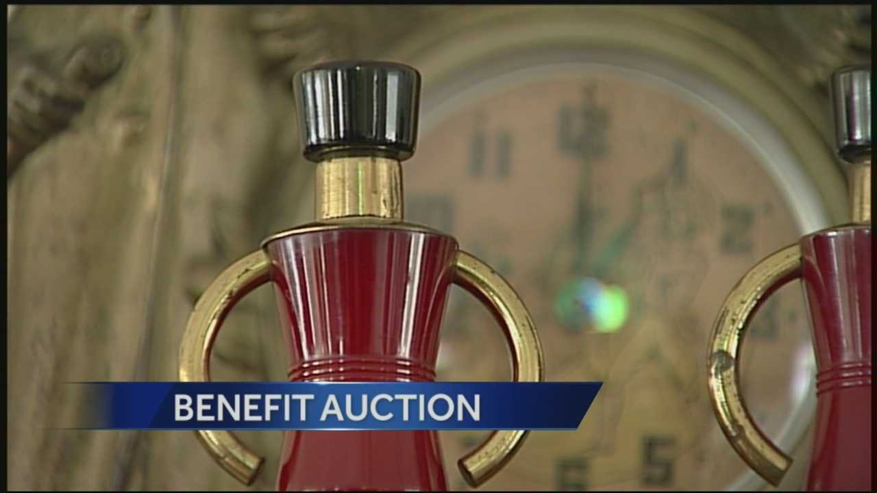 Over 400 art deco and antique items will be up for bid to benefit breast cancer research.