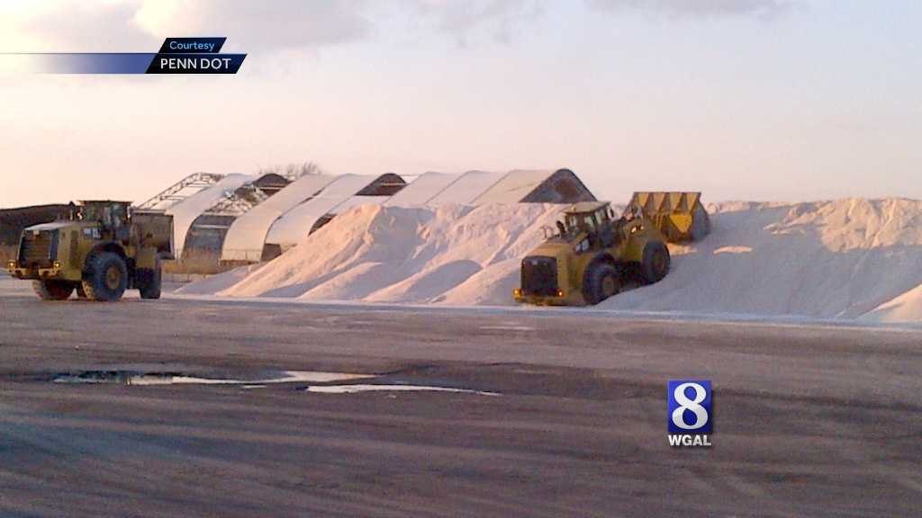 PennDOT will bring in tens of thousands of tons of salt to the state this week.