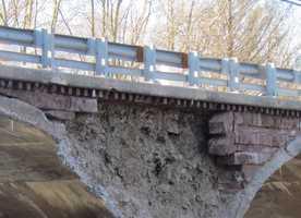 The Duke Street bridge in Hummelstown, Dauphin County has critical deficiencies.