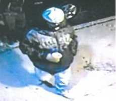 York police are trying to identify this person in connection with a double shooting at a city bar.