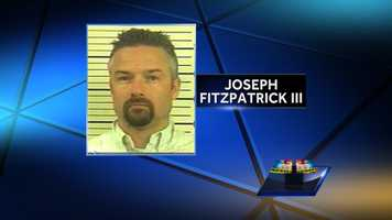 Joseph Fitzpatrick III, 40, of Felton, York County, is accused of staging an ATV accident and killing his wife.