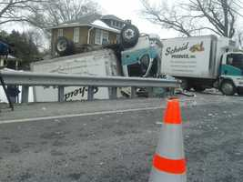The accident happened along the 3300 block of Columbia Avenue in Manor Township around 8:30 a.m.