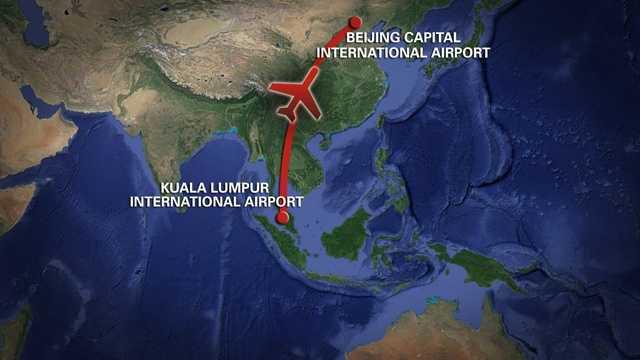 Malaysian missing flight