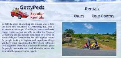 Travel by scooter or segway and see the Gettysburg Battlefield. Learn more at www.gettypeds.net or www.segtours.com.