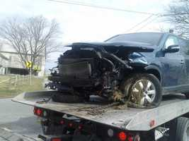 The crash happened at the intersection of Colebrook and Rock Point roads in East Donegal Township.