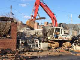 Three of the buildings have to be demolished.